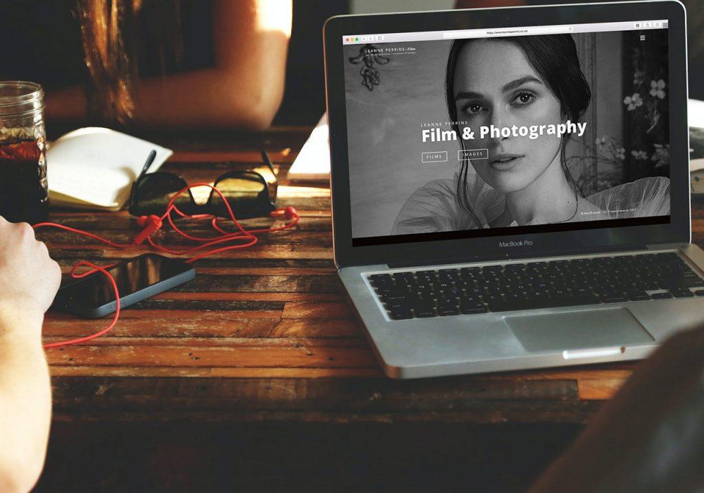 Leanne Perrins Website Design