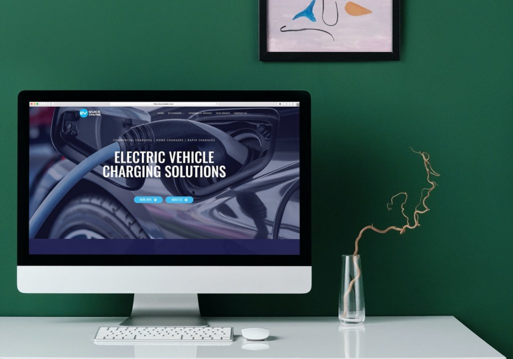 EV QuickCharge Web Design
